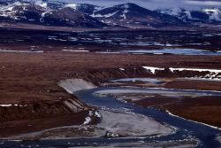 Noatak River - Aerial View Photo