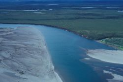 Noatak River Flats - Aerial View Photo