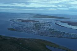 Barrier Islands and Lagoons at Cape Espengerg Photo