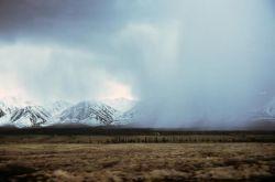 Alaska Range Squall Photo