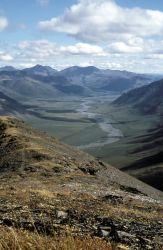 Brooks Range River Valley Photo