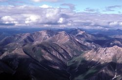 Mountainous Gates of the Arctic in Summer - Aerial View Photo