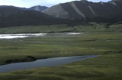 Eagle Lake and Surrounding Hills Photo