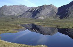 Unnamed Lake in Brooks Range Photo