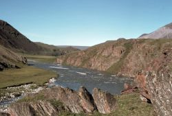 Arctic Refuge River in Summer Photo