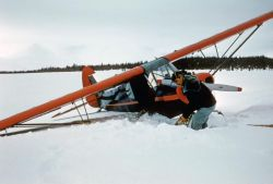 Airplane - Digging out of Snow Photo