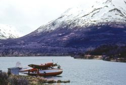 Airplane on Karluk Lake Photo
