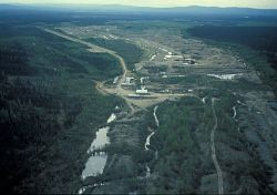 Hog River and Placer Mine Photo