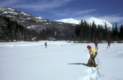 Snowshoeing in Refuge Photo