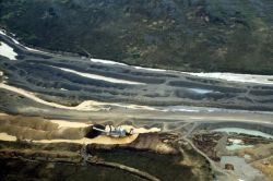 Platinum Mining Aerial View Photo
