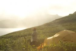 Chowiet Island rise and shine Photo