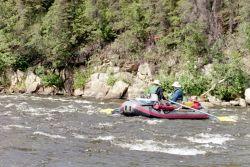 River Rafting on the Gulkana River Photo