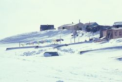 Village of Mekoryuk on Nunivak Island Photo