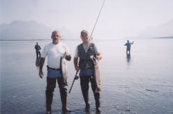 Silver Salmon (Coho) Sport Fishing in Southcentral Alaska Photo