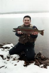Rainbow Trout Catch and Release Photo