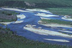 Chandalar River in Summer Photo