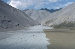 Chandalar River Valley in Summer Photo