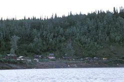 Yistletaw Village and Yukon River Photo