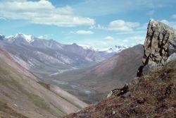 Mountain Valley Panorama Photo