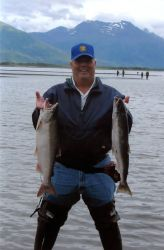 Jim Creek Silver Salmon Photo