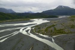 Braided River Outwash Plain Photo