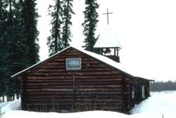 Allakaket Log Church Photo