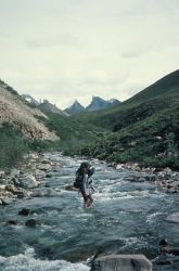 Hiking in the Arctic NWR Photo