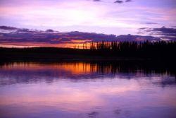 Nowitna River Sunset Photo