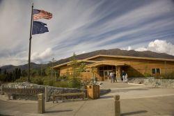 Interagency Visitor Center, Coldfoot, Alaska Photo