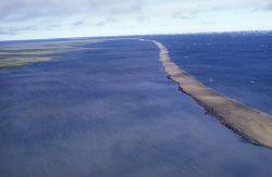 Ice Reef or Breakwater Photo