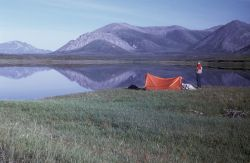 Camp Above Sheenjek River Photo