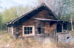 Historic Kenai Cabin at Rennie's Landing Photo