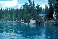 Development on the Kenai River Photo