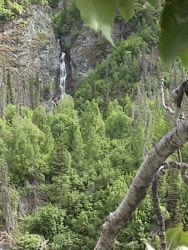 Cliffs Waterfalls and Cottonwood Photo