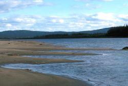 Koyukuk River Sandy Shoreline Photo