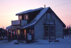 House in Fort Yukon Photo