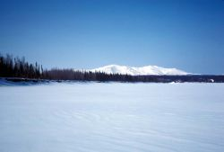 Zone Hills and Koyukuk River Photo
