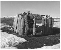 Cabin Remains on Cross Island Photo