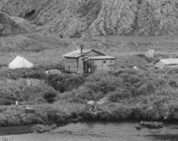 Aleut Fish Camp, Atka Photo