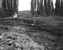 North of Livingood, Subsidence on the Hickel Highway Photo