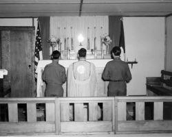 Church Service on Attu Photo