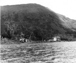 Refuge Buildings on Karluk Lake Photo