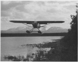 FWS Cub Floatplanes Used for Predator Control Work Photo