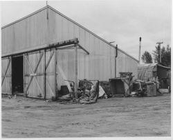 Anchorage Airplane Hangar at Lake Hood Photo