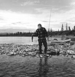Palmer C. Sekora Grayling Fishing near Old Woman Creek Photo