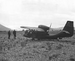 Seabee Airplane at Dry Bay near Yakutat, Southeast Alaska Photo