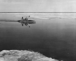 Kayaking Along Arctic Coast Photo