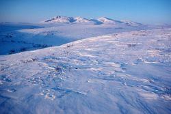 Noatak River Winter Landscape Photo