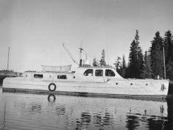 U.S. Fish and Wildlife Service Patrol Boat in Prince William Sound Photo