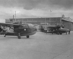 Service Aircraft at Yakutat, Southeast Alaska Photo